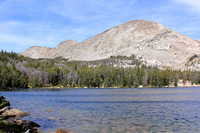 Mountain and Upper Silas Lake