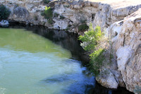 Hot Springs along Big Horn River